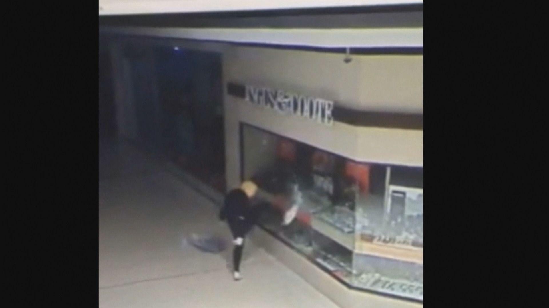 澳洲男子戴特朗普面具盜竊多間店舖