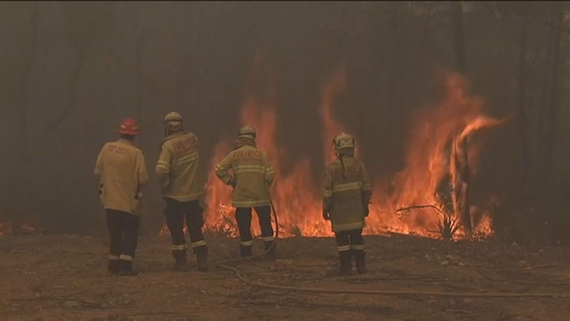 新南威爾士州義務消防員可獲聯邦政府補償