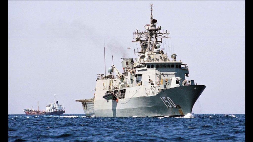 報道指三艘澳軍艦駛經南海遭中方警告