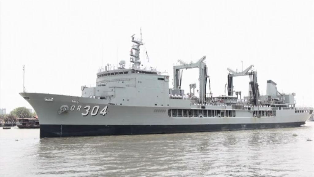 國防部證實中澳軍艦在南海相遇