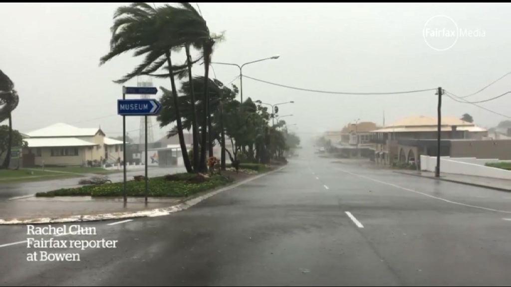 熱帶氣旋襲昆士蘭 逾二萬人要疏散