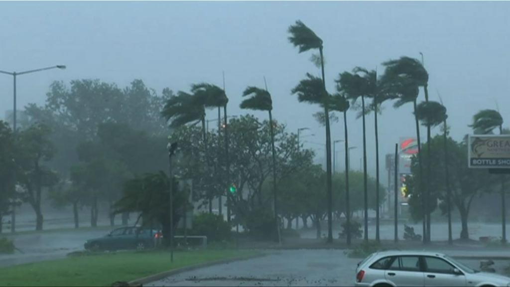澳洲北部受熱帶氣旋吹襲