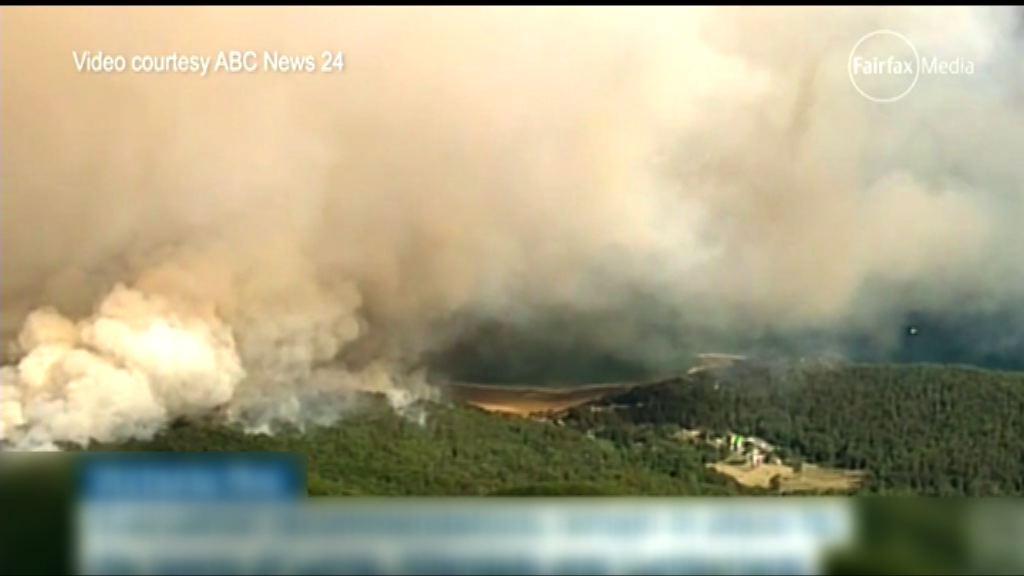 澳洲山火肆虐毀逾百間房屋
