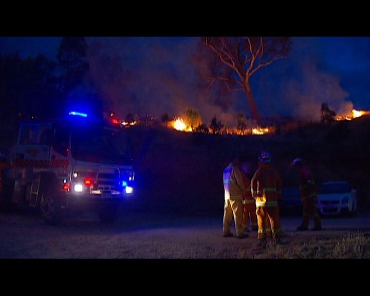 南澳氣溫下降有利撲滅山火