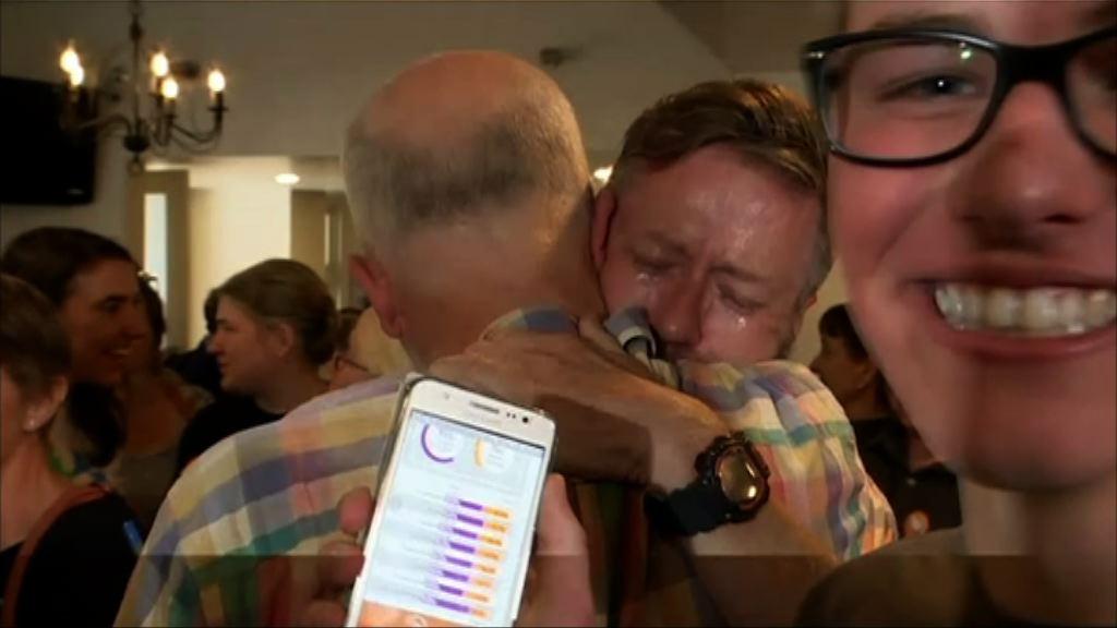 澳洲逾六成一人支持同性婚姻