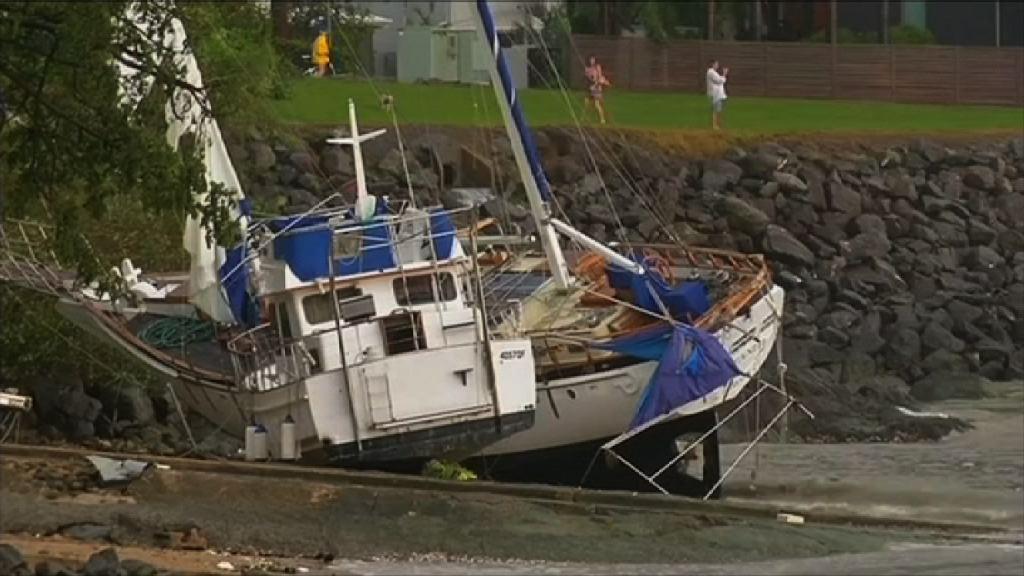 昆士蘭風災兩人傷 廣泛地區受嚴重破壞