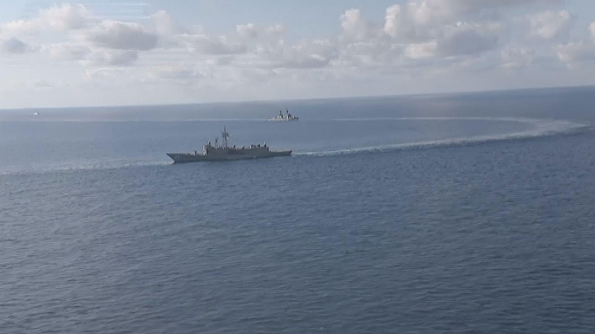 解放軍艦隻首度參與澳洲大型軍演