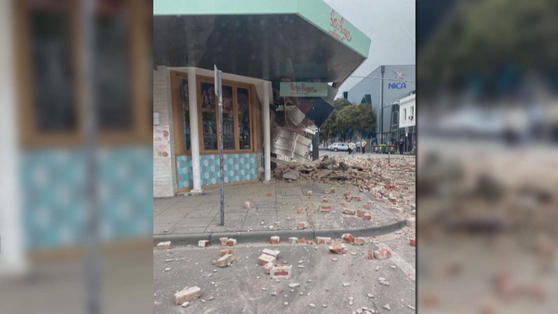 澳洲維多利亞州六級地震 墨爾本有震感