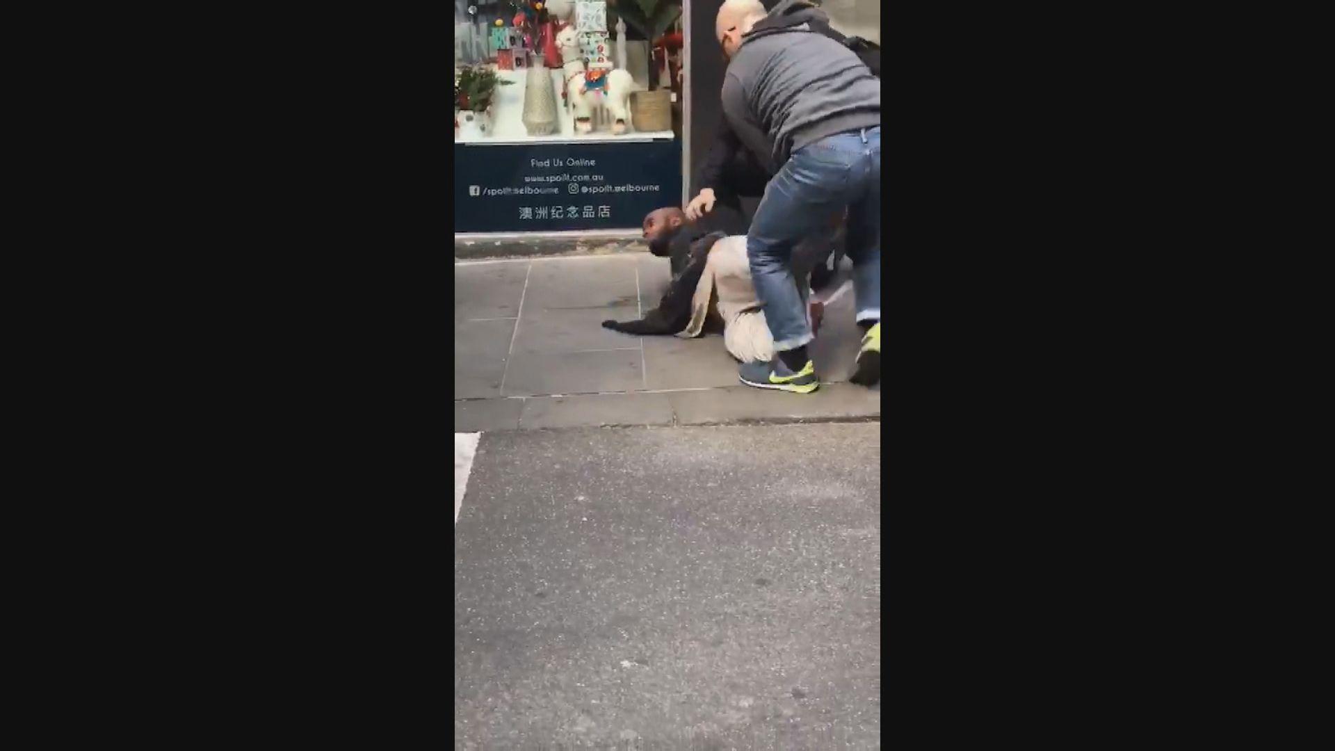 澳洲墨爾本持刀襲擊男子遭警擊斃