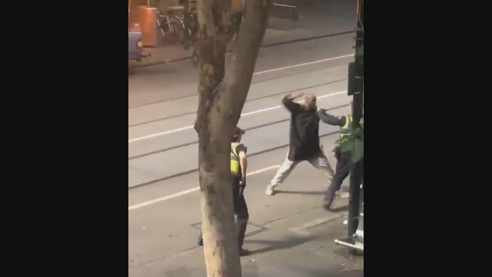 墨爾本男子持刀襲擊 警方列作恐怖主義事件