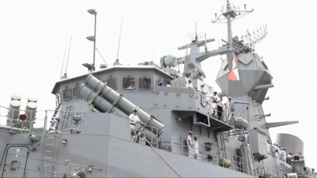 中國情報船或蒐集澳洲軍艦情報
