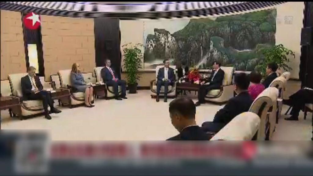 中國拒澳洲貿易部長晤高級官員