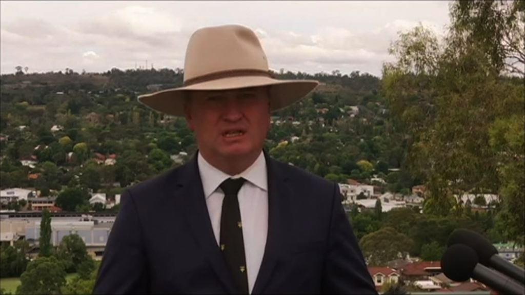澳洲副總理涉婚外情辭職