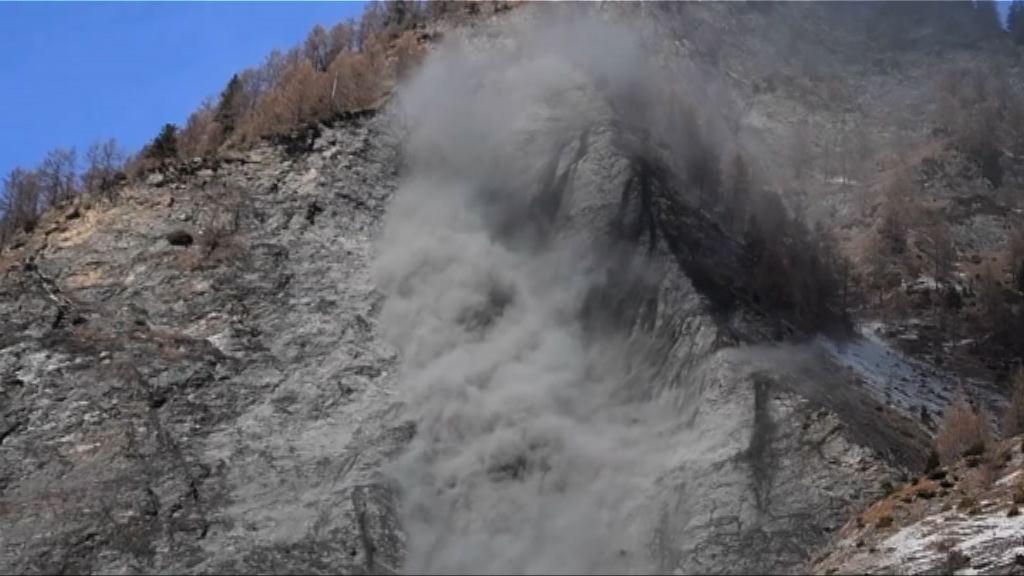 奧地利村莊山泥傾瀉無人傷