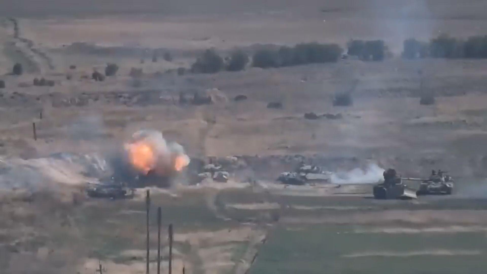 亞美尼亞阿塞拜疆軍事衝突至少23死 分別宣布戒嚴令