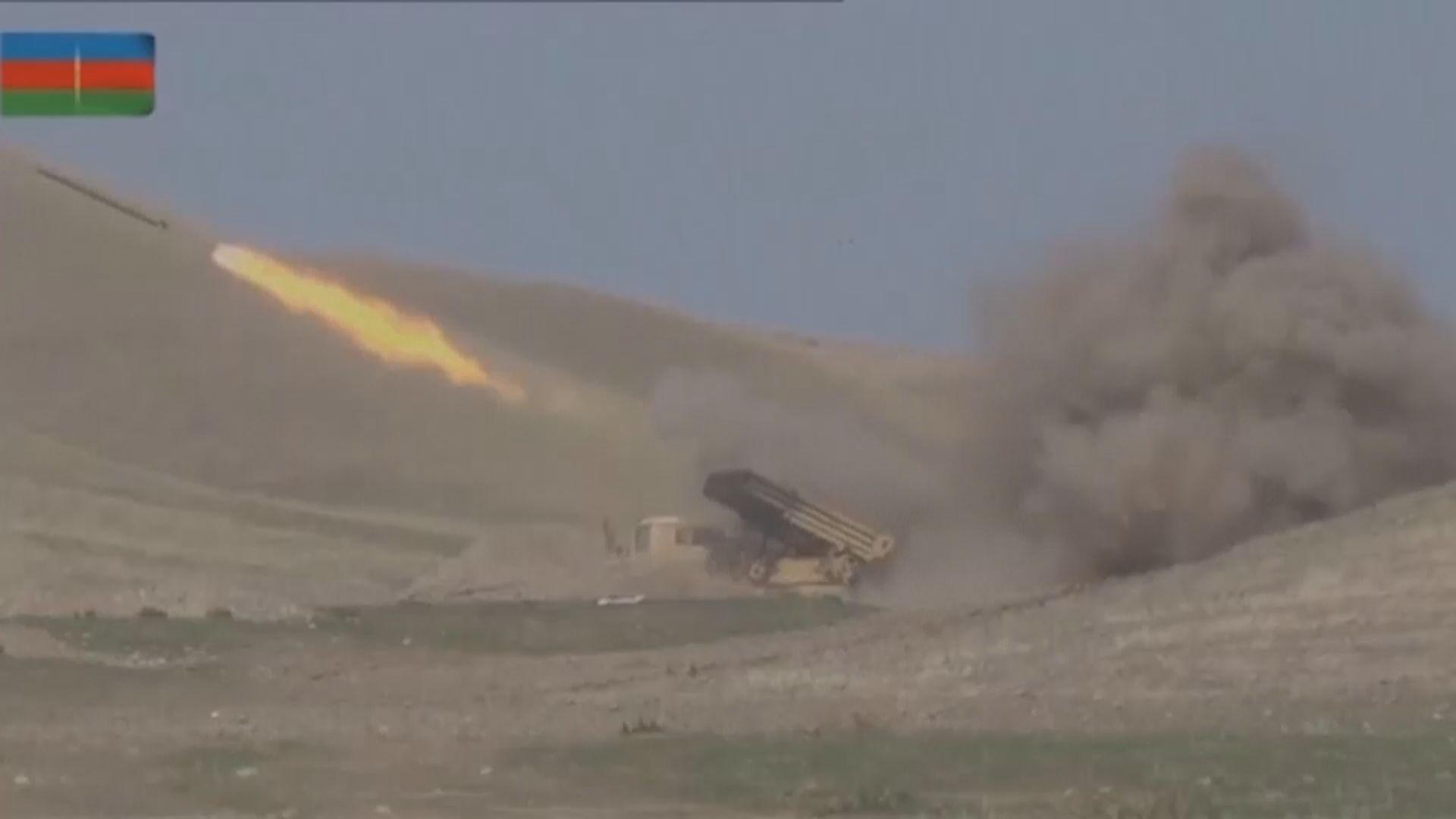 亞美尼亞阿塞拜疆軍事衝突持續