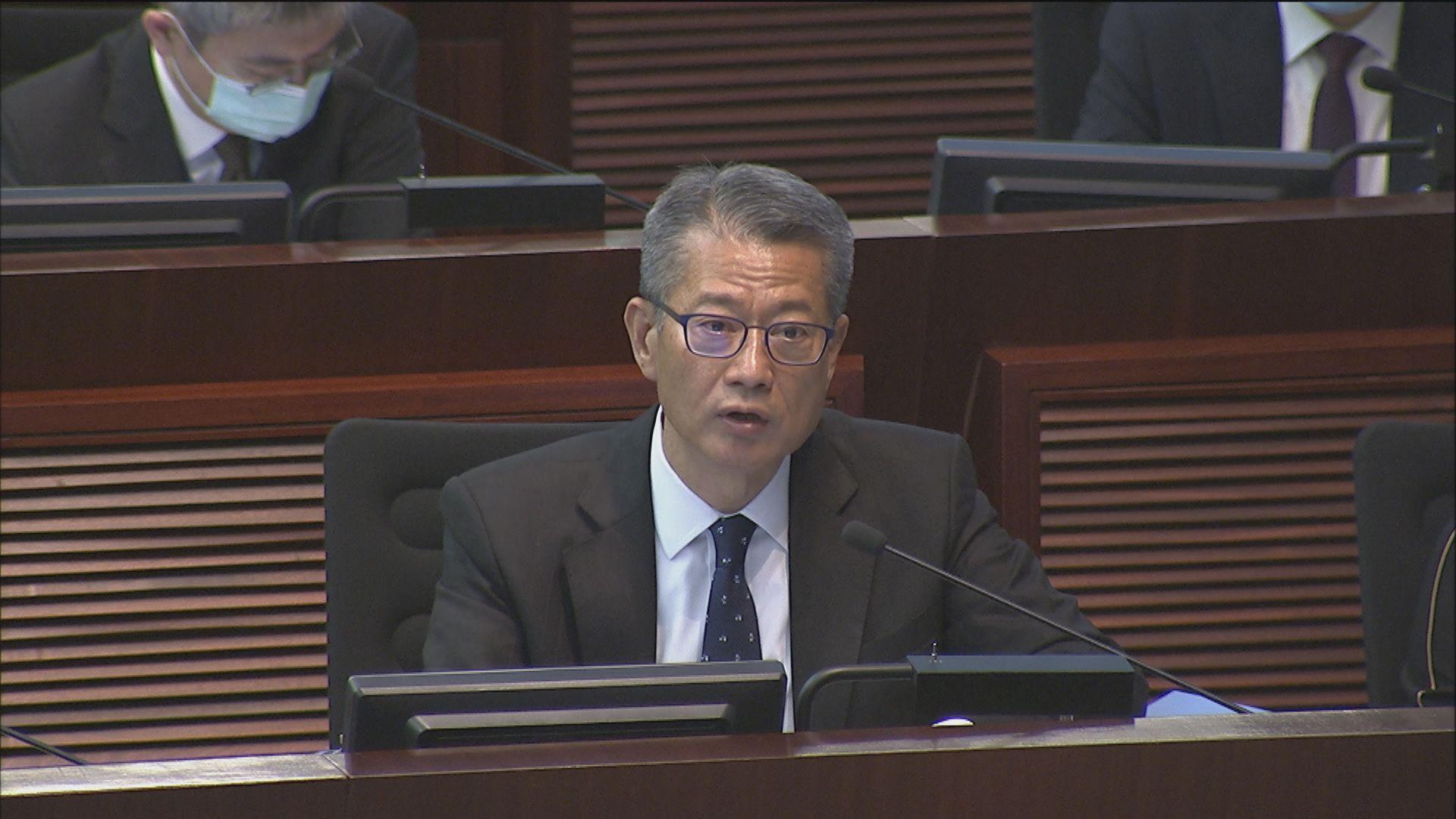 陳茂波:警隊提出增添人手等要求合理 拒分開表決