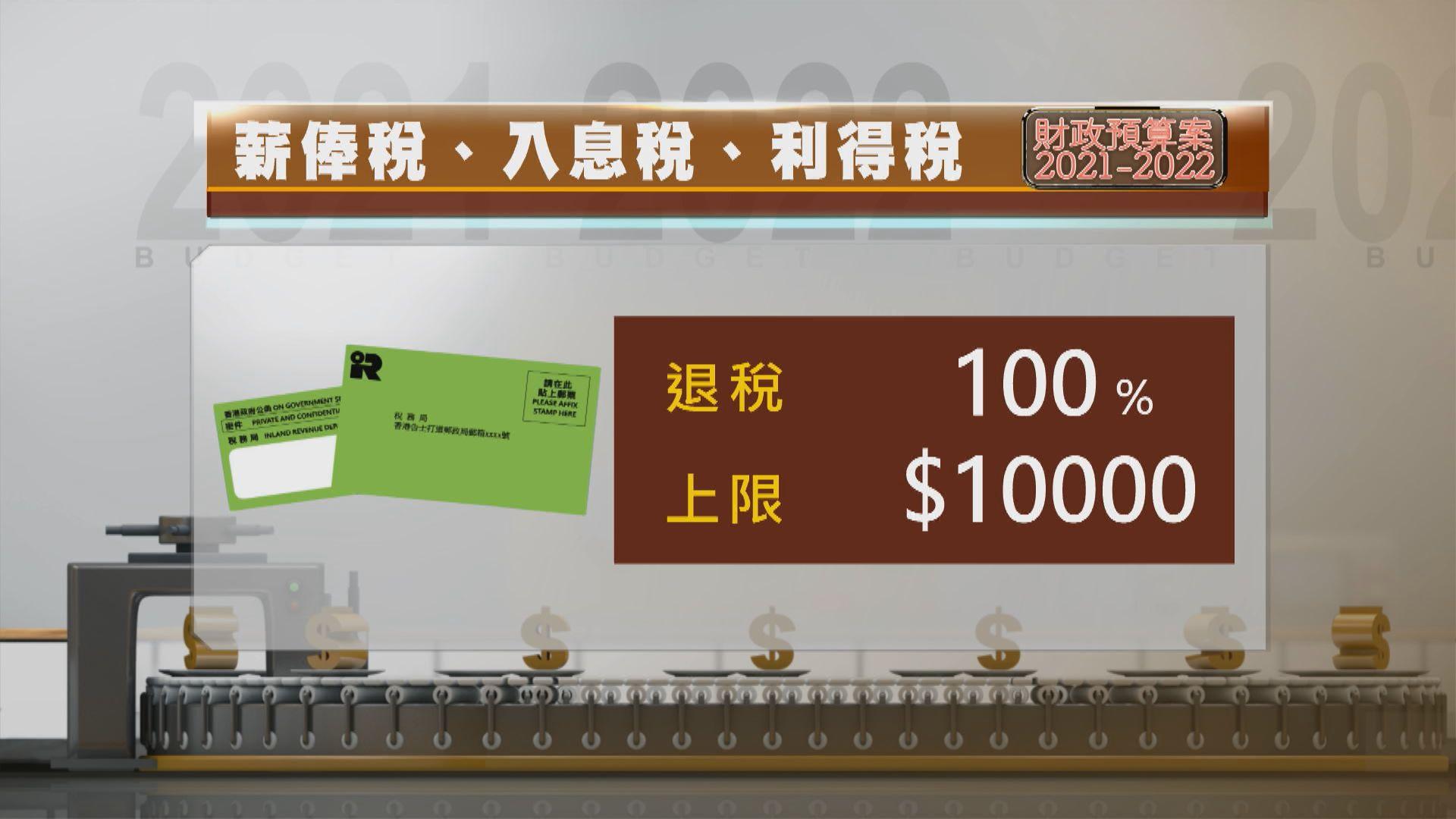 【預算案減甜】薪俸稅寬免上限減至一萬 綜援只多半月糧