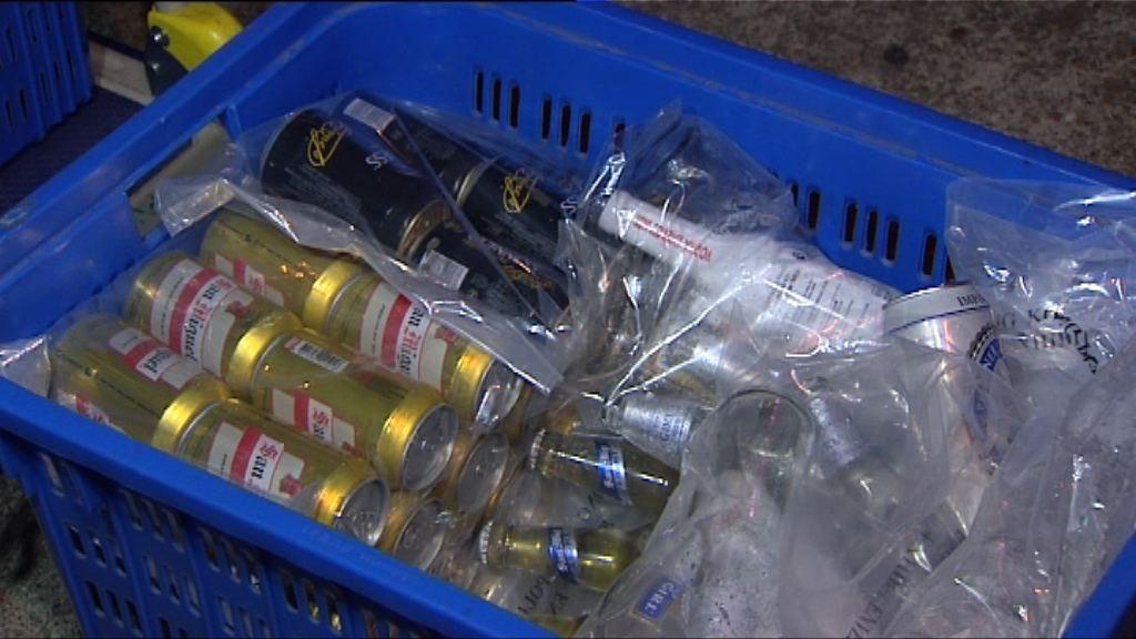 警方元朗打擊無牌賣酒拘21人