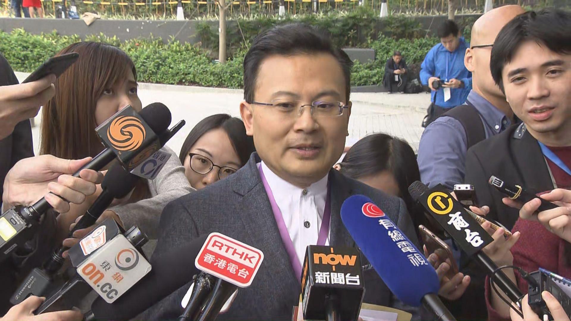 陳勇:盼不想融入大灣區發展的人勿破壞規劃