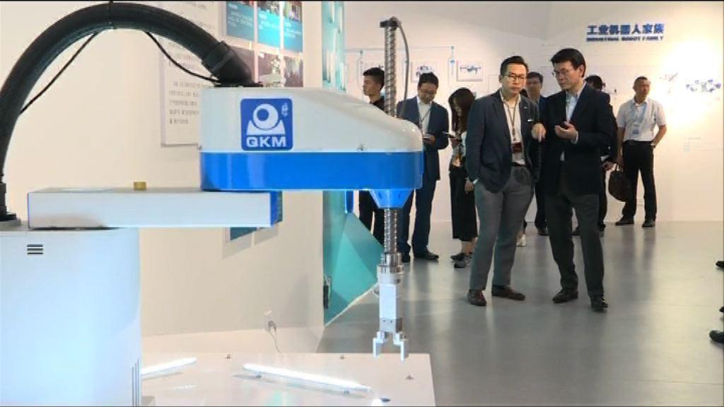 立法會訪問團訪大灣區參觀創新科技設施