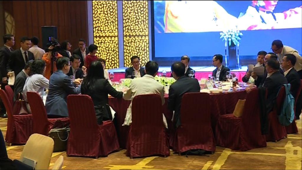 立法會訪問團到東莞參觀並出席晚宴