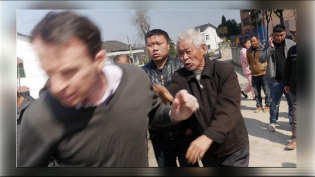 BBC記者湖南採訪上訪者遭毆打
