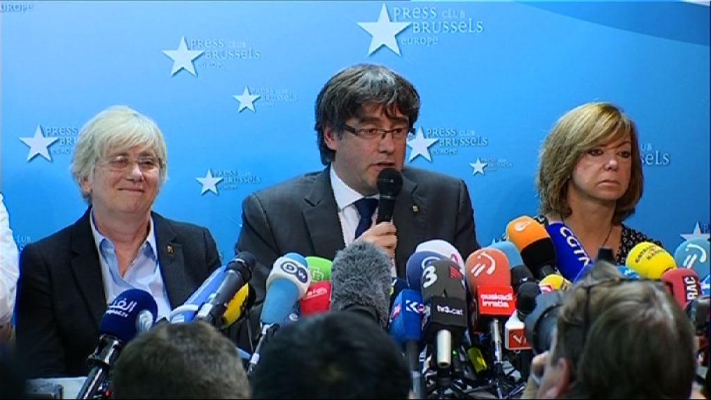 加泰自治區主席:並非尋求比利時政治庇護