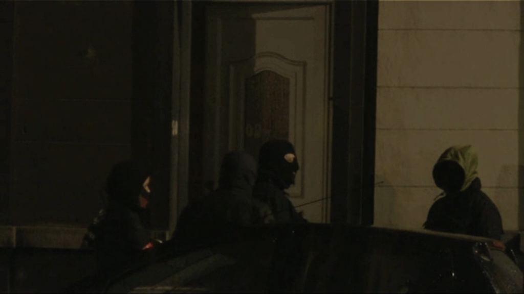 布魯塞爾反恐行動最少七人被捕