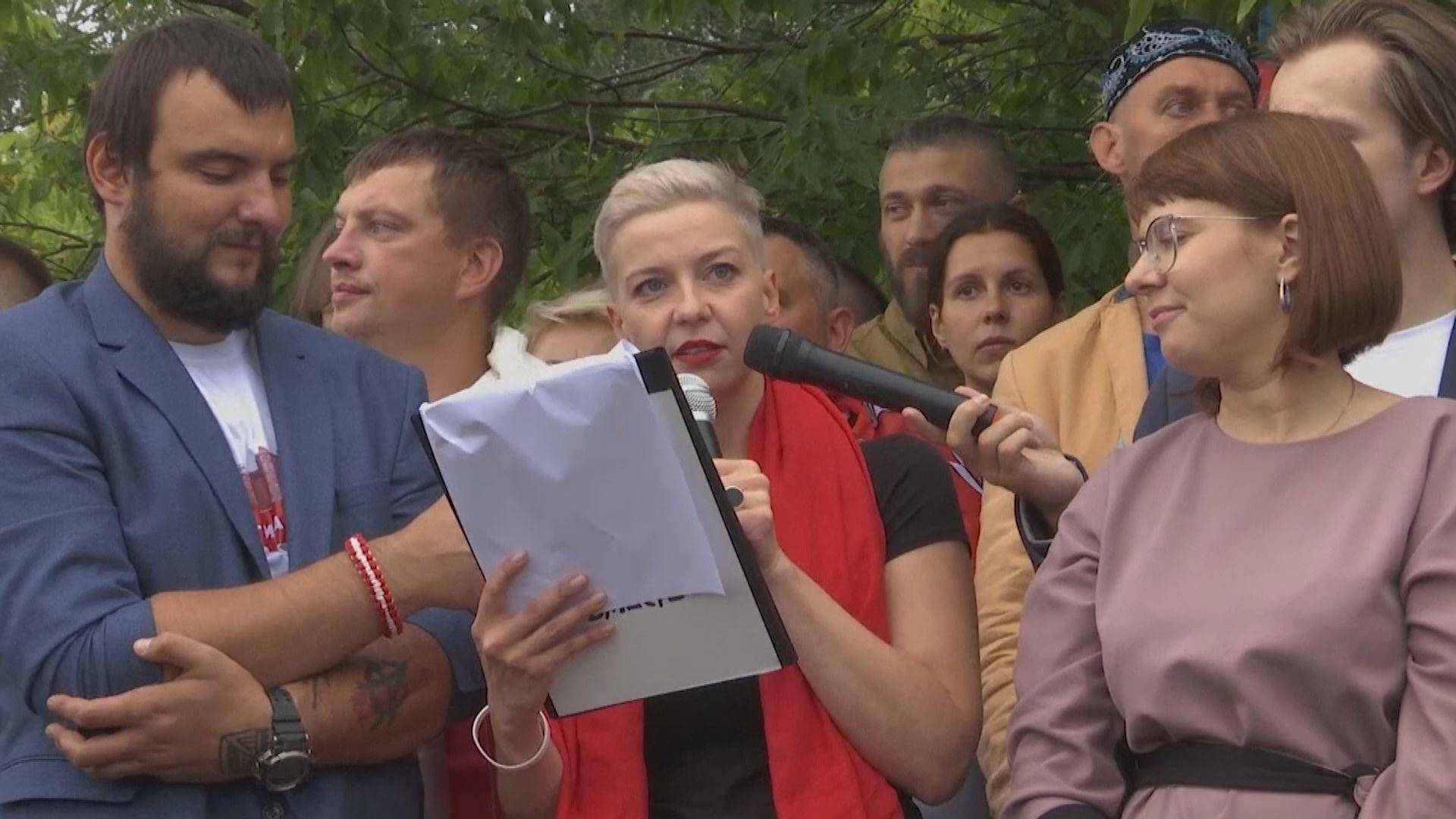 白俄羅斯反對派領袖被擄 歐盟擬制裁當地31名官員