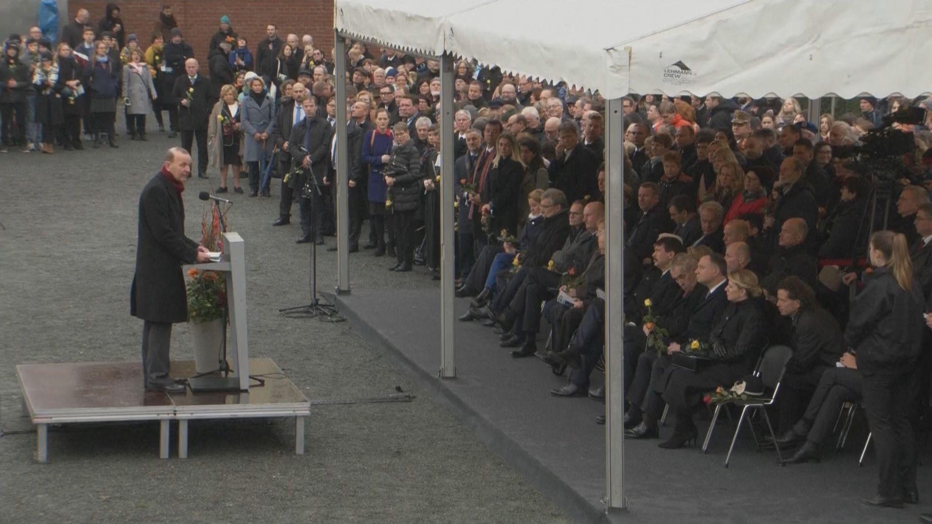 歐洲多名領袖出席柏林圍牆倒下30周年儀式