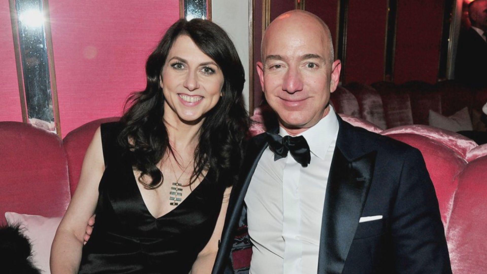 亞馬遜創辦人貝索斯妻子離婚後成為全球第三女富豪