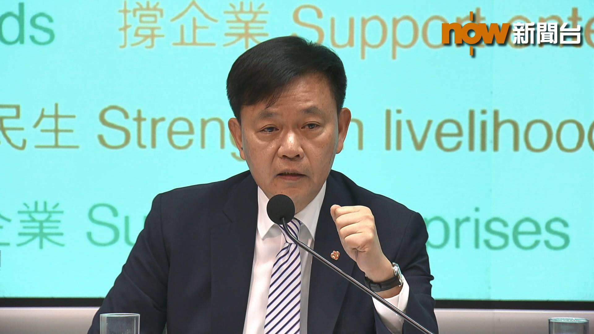 梁栢賢:100億基金能提升醫護人員士氣