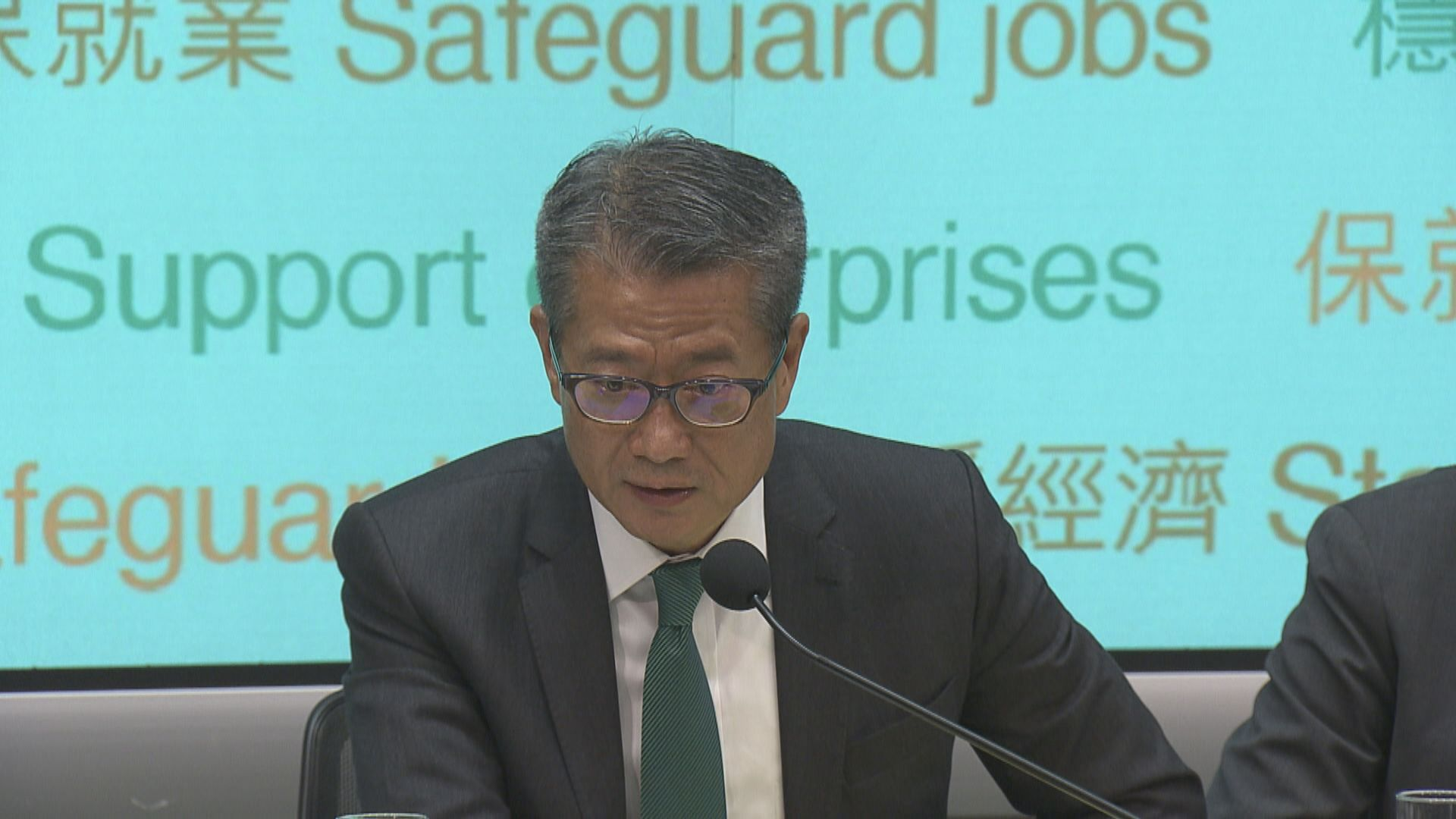 陳茂波:不放寬住宅按揭免市場有錯誤訊息