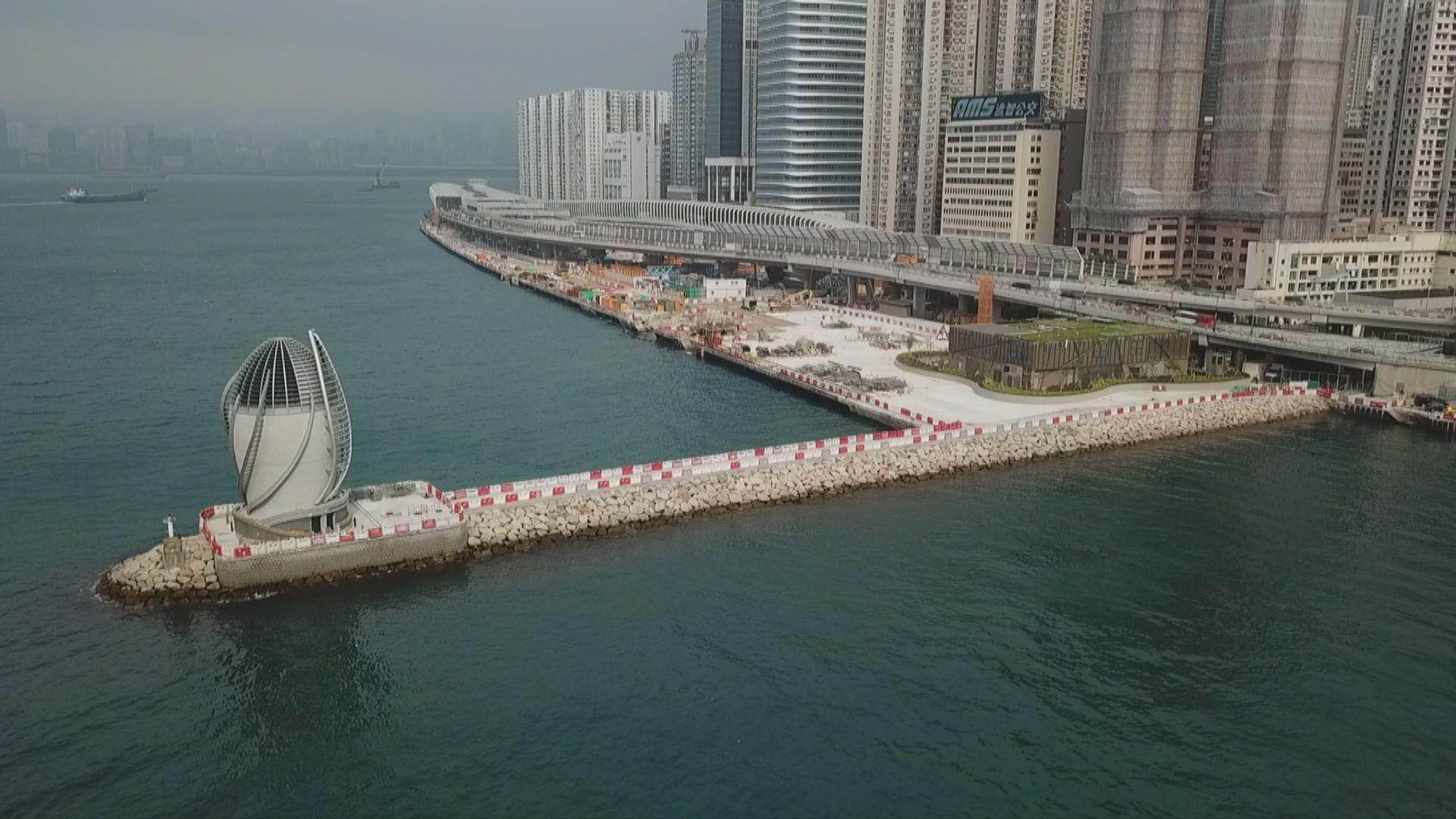 政府預留60億發展9個新海濱長廊
