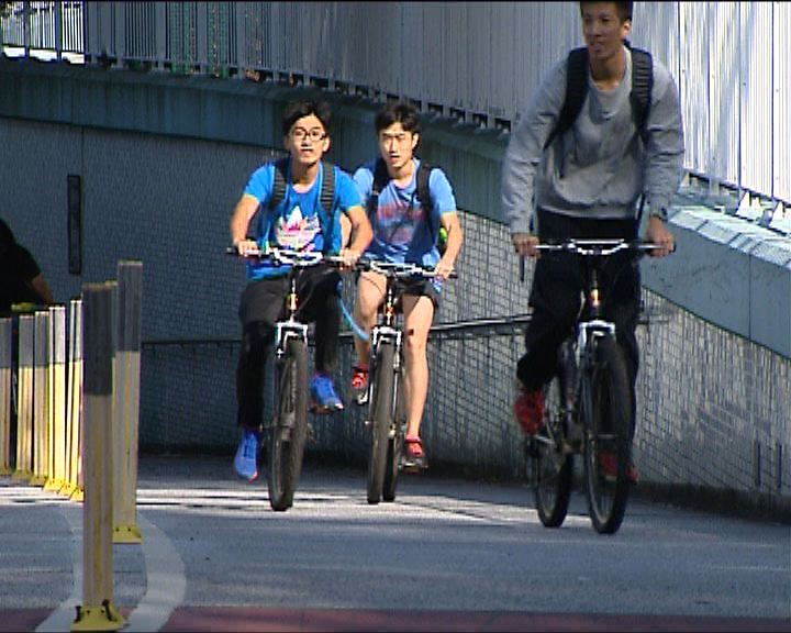單車交通意外十年增七成