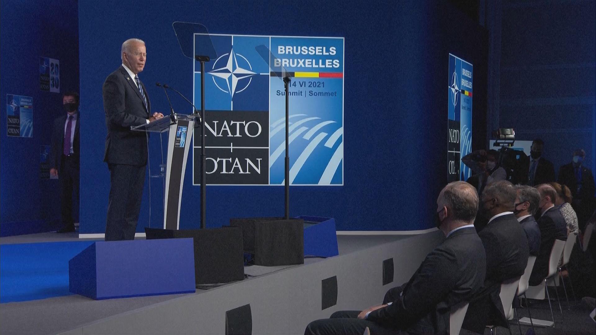 拜登:美俄應在具共同利益領域合作