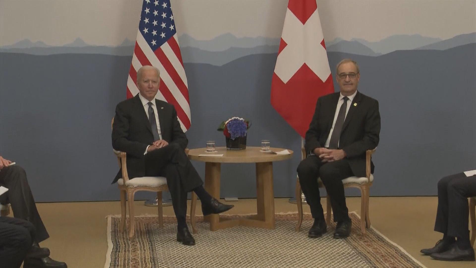 拜登抵日內瓦 準備出席美俄峰會