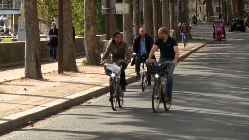加拿大研究指踏單車上班有助減壓