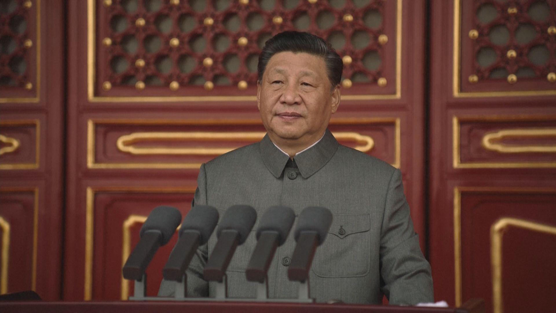 習近平:中國人善於破壞舊世界 也善於建立新世界