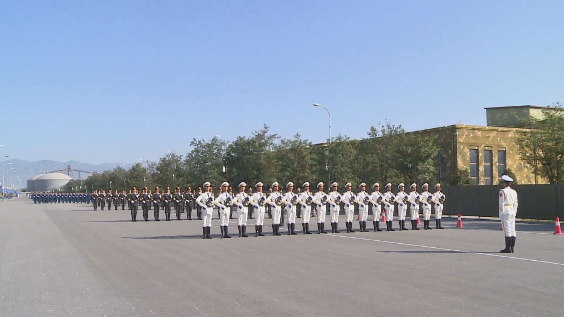 解放軍維和部隊:國慶閱兵彰顯中國愛好和平
