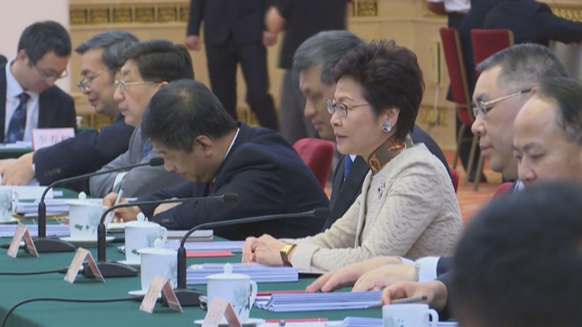 林鄭:香港可用更好身分在大灣區發揮優勢