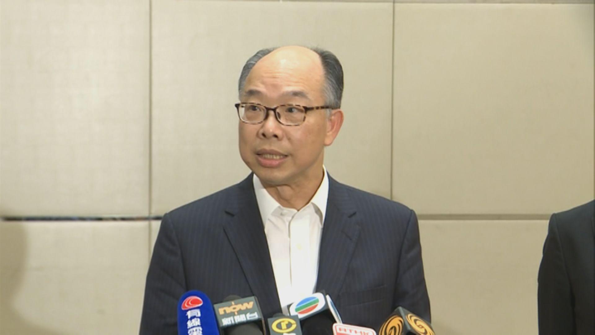 陳帆:已確認高鐵香港段安全可投入服務