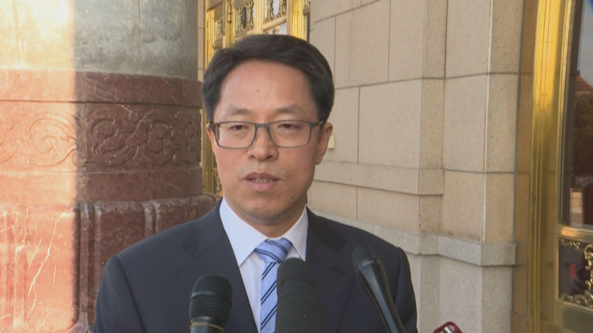 張曉明:外國記者會協助煽動屬違法