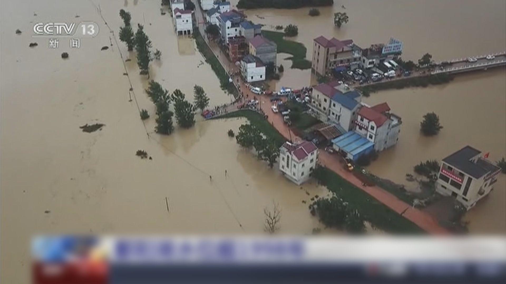 內地水利部:雨帶將北移 華北及東北要做好防汛