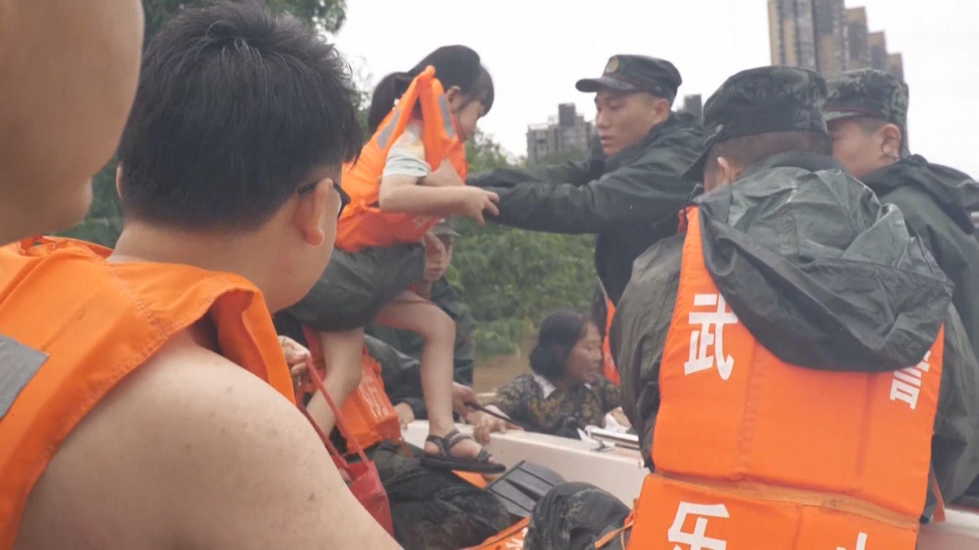 內地汛情持續 超過七千萬人受災