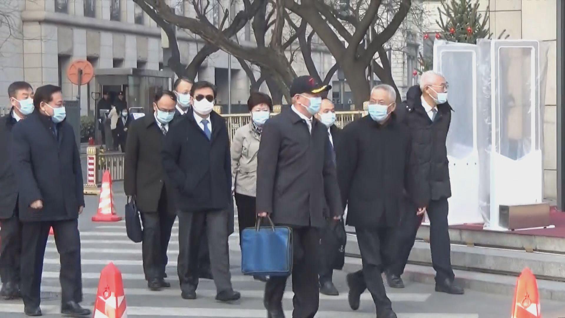 人大常委會一連兩日在北京召開