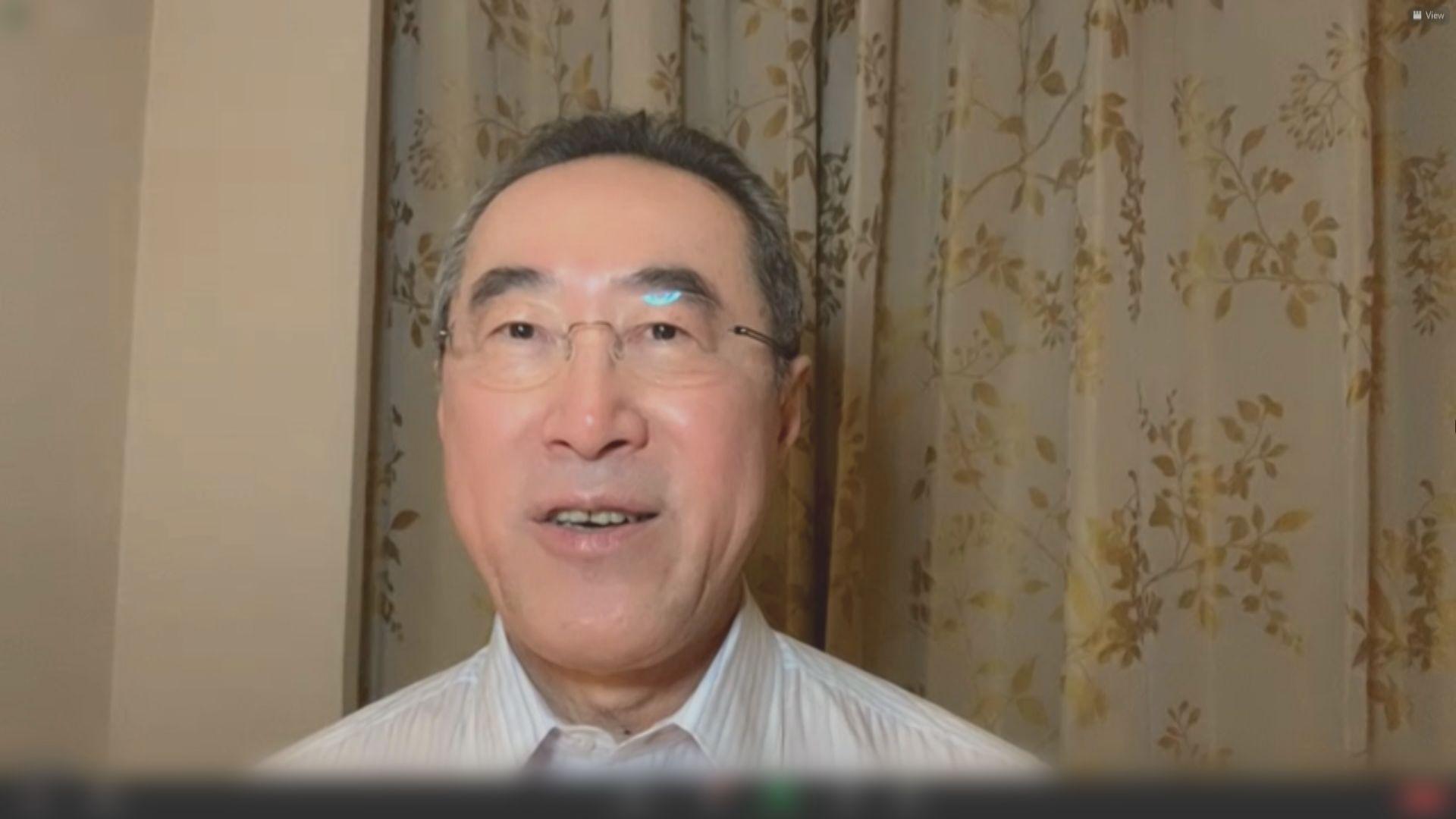 唐英年引述韓正指香港疫情要控制得更好才可通關 無提具體指標