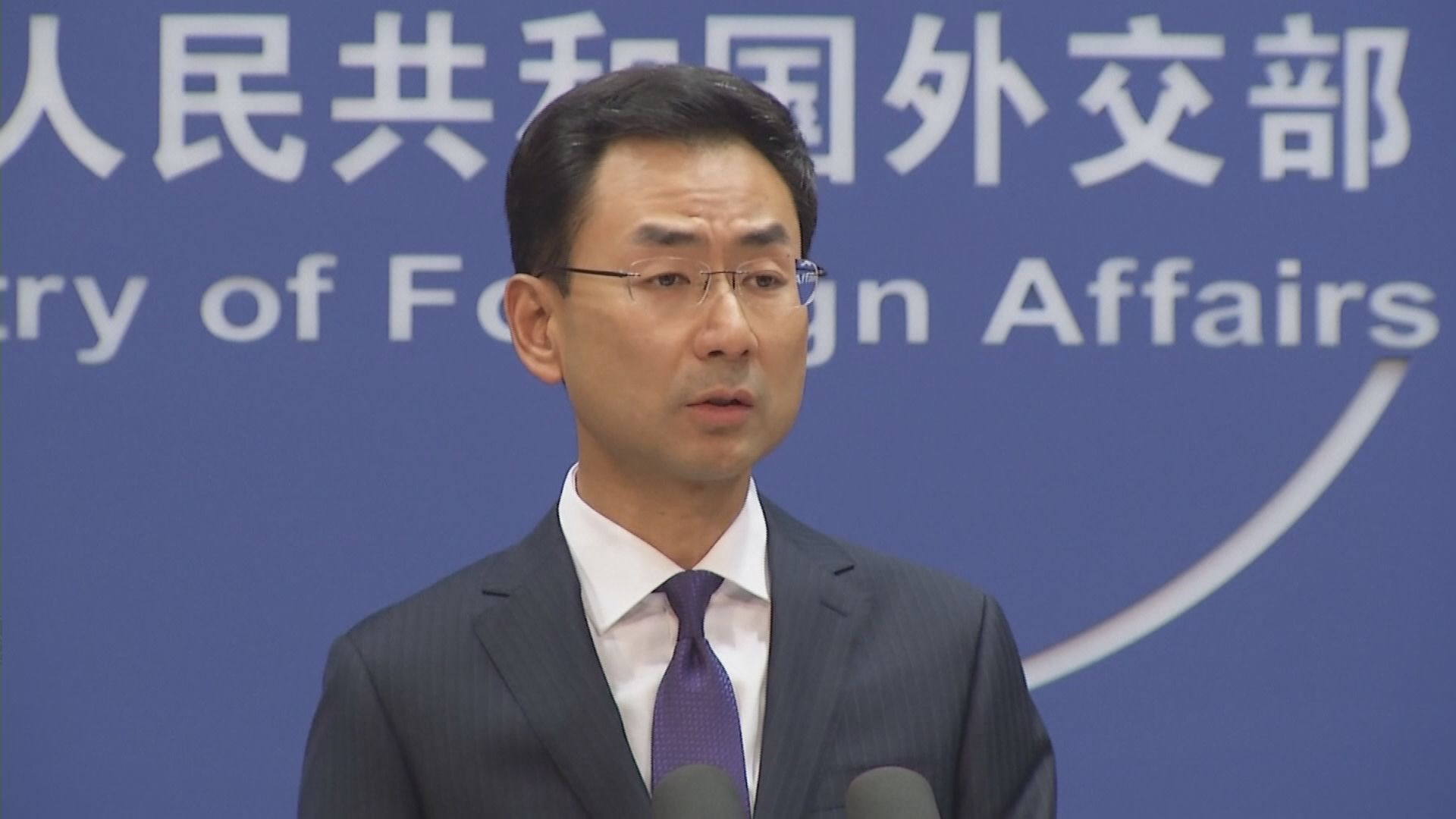 外交部:反對有組織評論港府禁民族黨運作