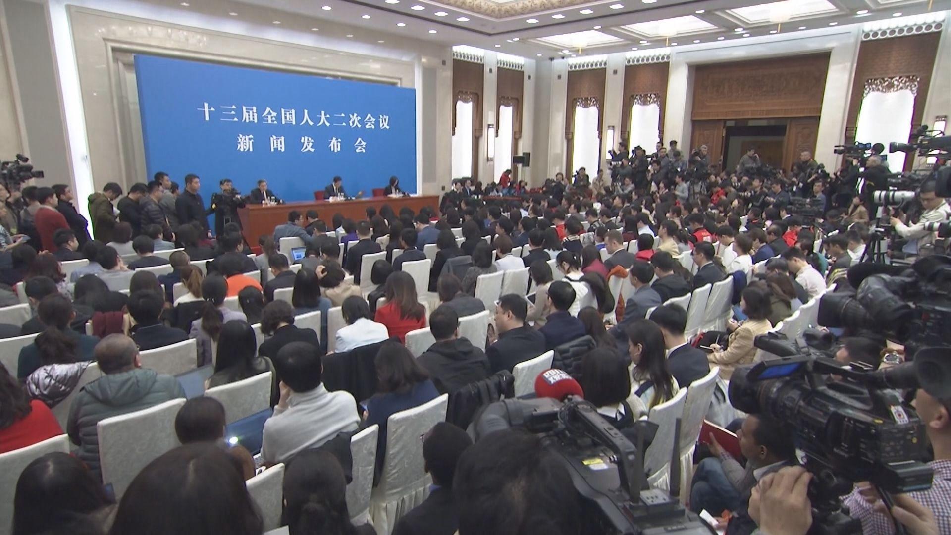 全國人大會議發言人:中美合作是最好選擇